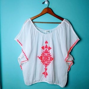 💥SALE💥  Maurices Boho Embroidered Top 2